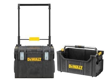 DWST81683 TOUGHSYSTEM Wheeled Toolbox & TOUGHSYSTEM Tote